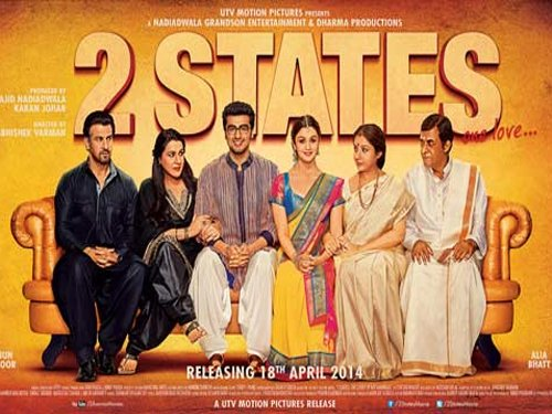 '2 States' was first offered to Shahrukh Khan, Ranbir Kapoor