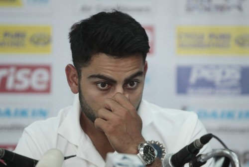 Didn't expect so much dew, says Kohli after loss