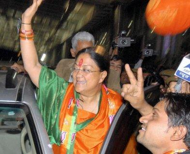 Raje's work plan a political drama, says Gehlot