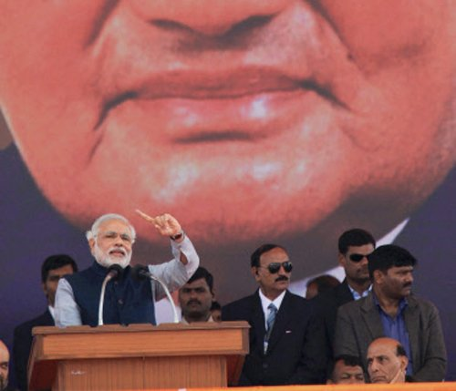 Who spends for Modi's rallies: Cong