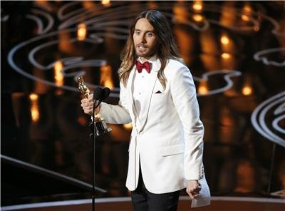Jared Leto wins Best actor in supporting role