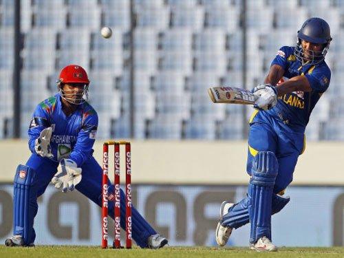 Sangakkara half century takes Sri Lanka to 253/6