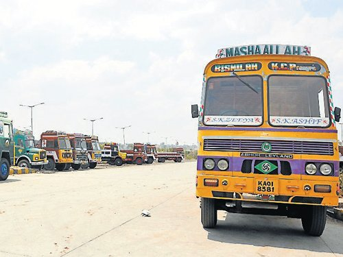 Not many takers for hi-tech truck terminal