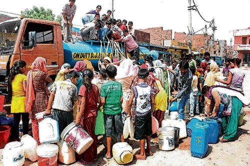 Palike draws up Rs 38.75-cr plan to tackle water crisis