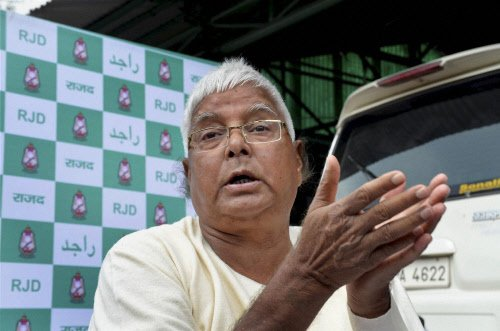 Congress-RJD tie-up finalised, says Lalu