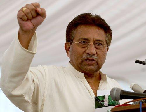 Musharraf dragged into fight between Nitish, Paswan