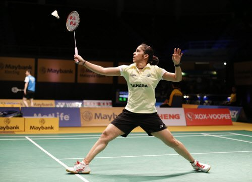 Saina in second round, Sindhu out of All England C'ship