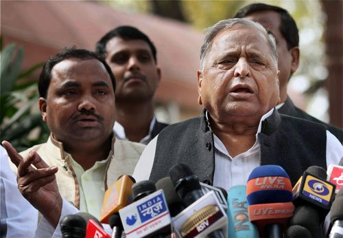 'Has someone died in your family?' Mulayam snaps at journalists