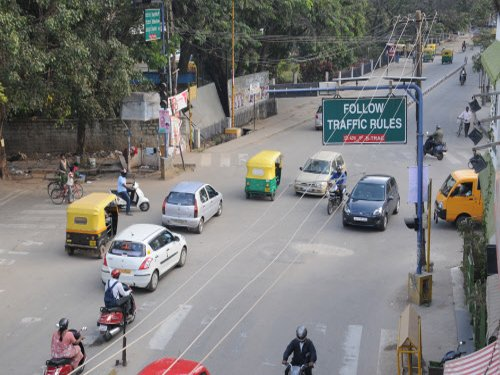 Traffic police to check vehicles for noise pollution too