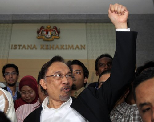 Malaysian opposition leader Anwar found guilty of sodomy