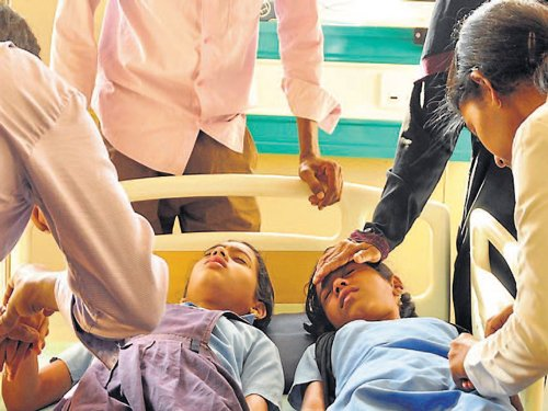 76 students take ill after mid-day meals