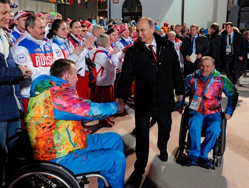 Russia opens Paralympics as Crimea crisis rages across sea