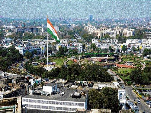 Delhi gets its highest monumental flagpole
