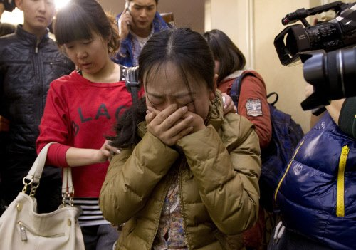 Malaysian plane may have turned back before disappearing
