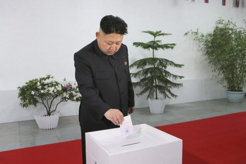 NKorean leader enjoys 100% 'poll' win