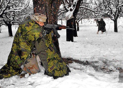 2 ultras killed, Army officer hurt in Kupwara