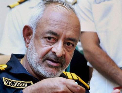 Navy ex-chief Joshi to get retirement benefits