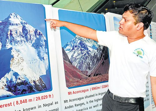 Software engineer on mountain-climbing mission across globe
