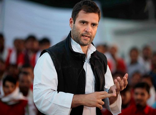 Rahul Gandhi booked for defaming RSS