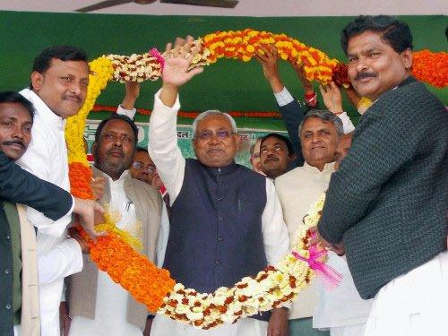 Nitish gives back Modi in equal measure