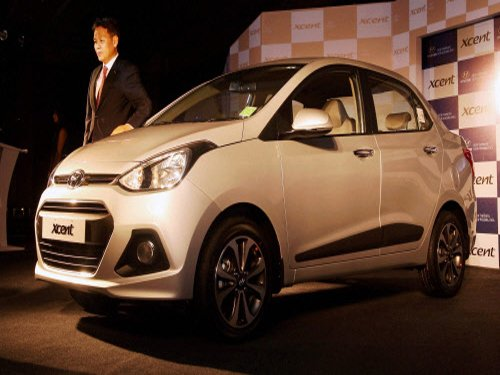 Hyundai launches entry-level compact sedan Xcent
