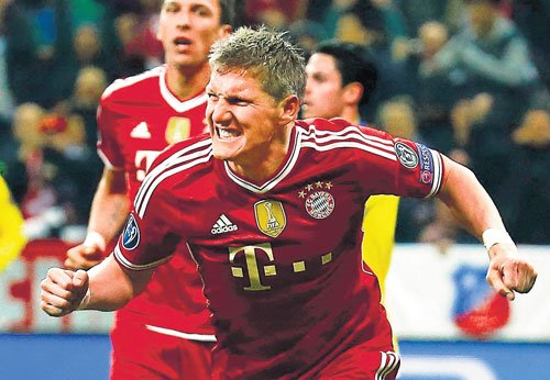 Bayern inch towards history