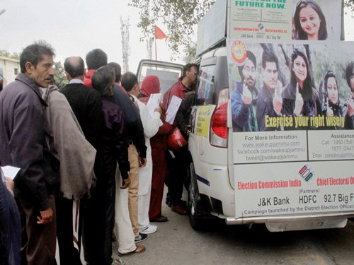 Over 500 people from northeast enroll as Delhi voters