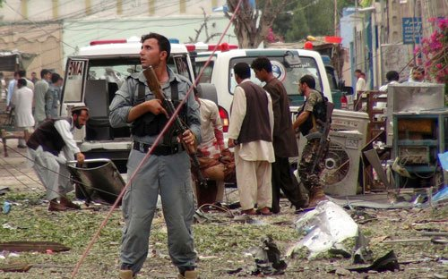 Suicide bomber killed near Indian mission in Afghanistan