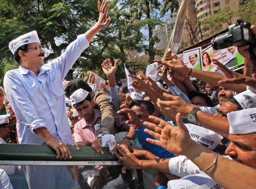 Kejriwal to hold road shows in Bangalore Saturday