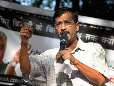 Kejriwal in City for road show, rally
