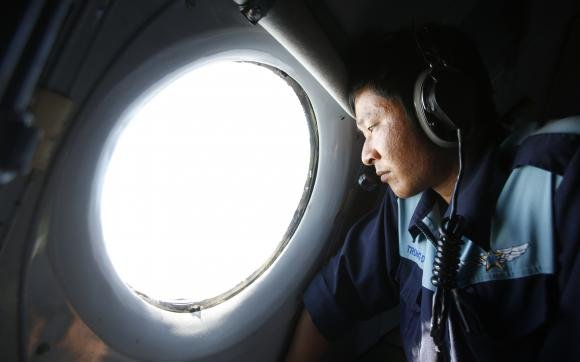 Missing plane may have run out of fuel over Indian Ocean