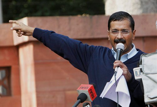 Unfazed Kejriwal fires yet another salvo at media