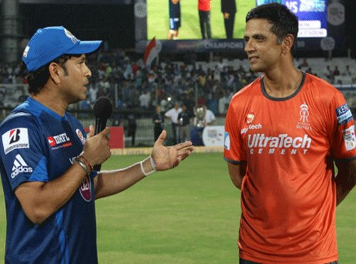 Sachin dominated fast bowling, says Dravid