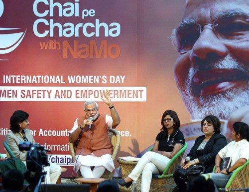 BJP's 'Chai Pe Charcha' runs into EC trouble
