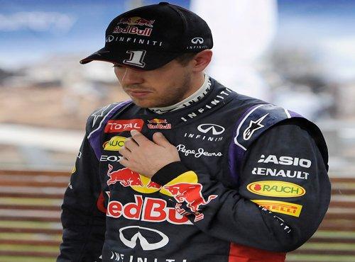 Engine woes end Vettel's streak