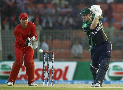 Ireland beat Zimbabwe by three wickets