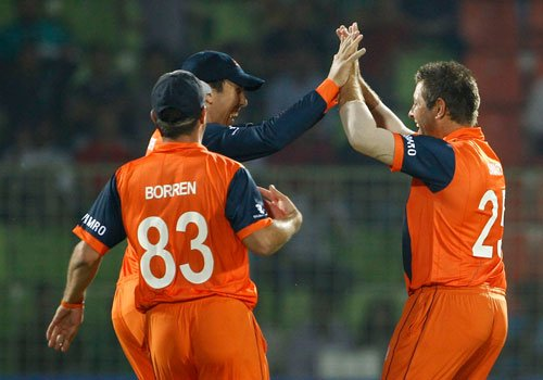 Netherlands shot out UAE for 151 in World T20