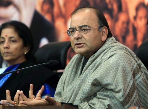 Rahul cut off from reality, Congress ship sinking: Jaitley