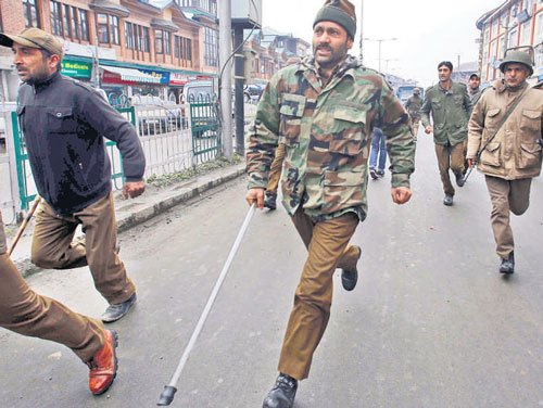 Police quell protests over Kashmiri youth's killing