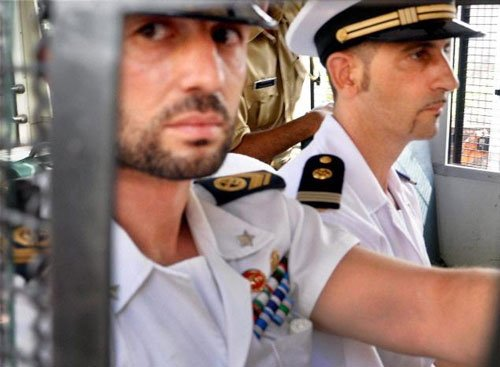 Italy appeals UN to help free marines from India