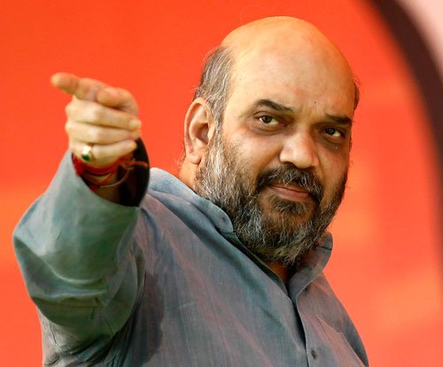 Cong files poll code violation plaint against Amit Shah