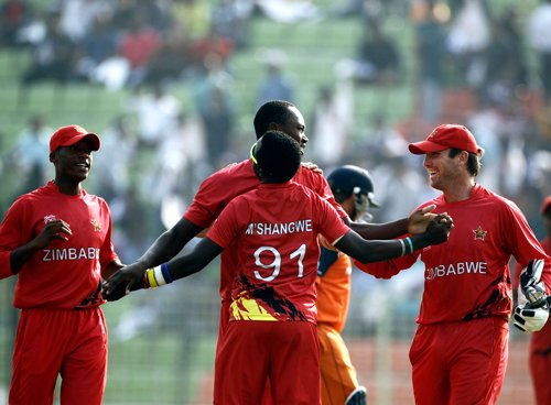 Zimbabwe beat Netherlands to stay in hunt for main draw