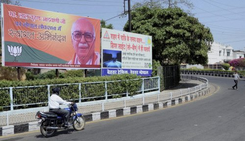 Advani wants to shift from Gandhinagar seat to Bhopal
