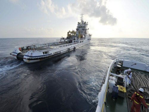 China wants its warships in Indian waters to search for plane