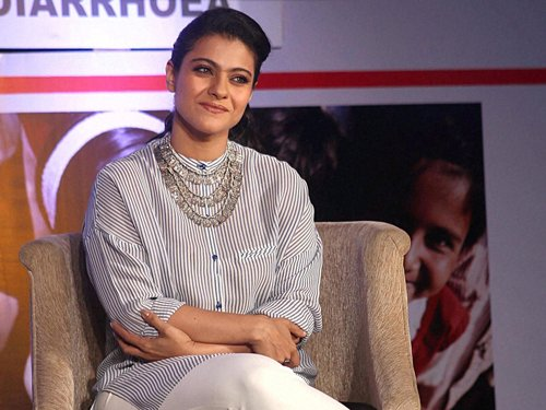 I am a very hands-on mother: Kajol