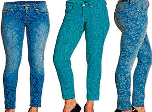 Make way for printed jeans in your wardrobe