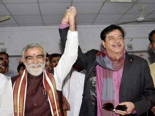Shatrughan thanks BJP for honouring his wish