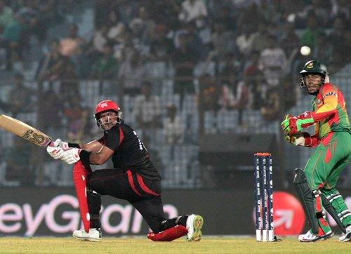 Bangladesh through to Super 10 despite stunning loss to HK