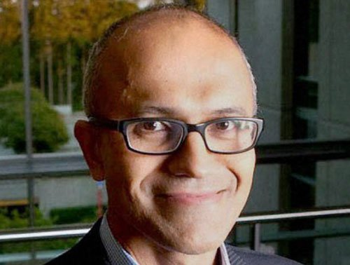 'Never dreamt of becoming Microsoft CEO'