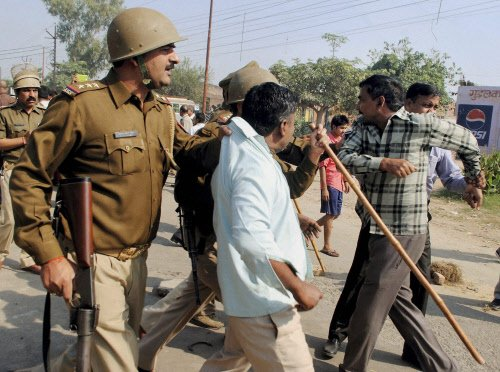 Riot-accused BJP nominee against victims exercising their franchise